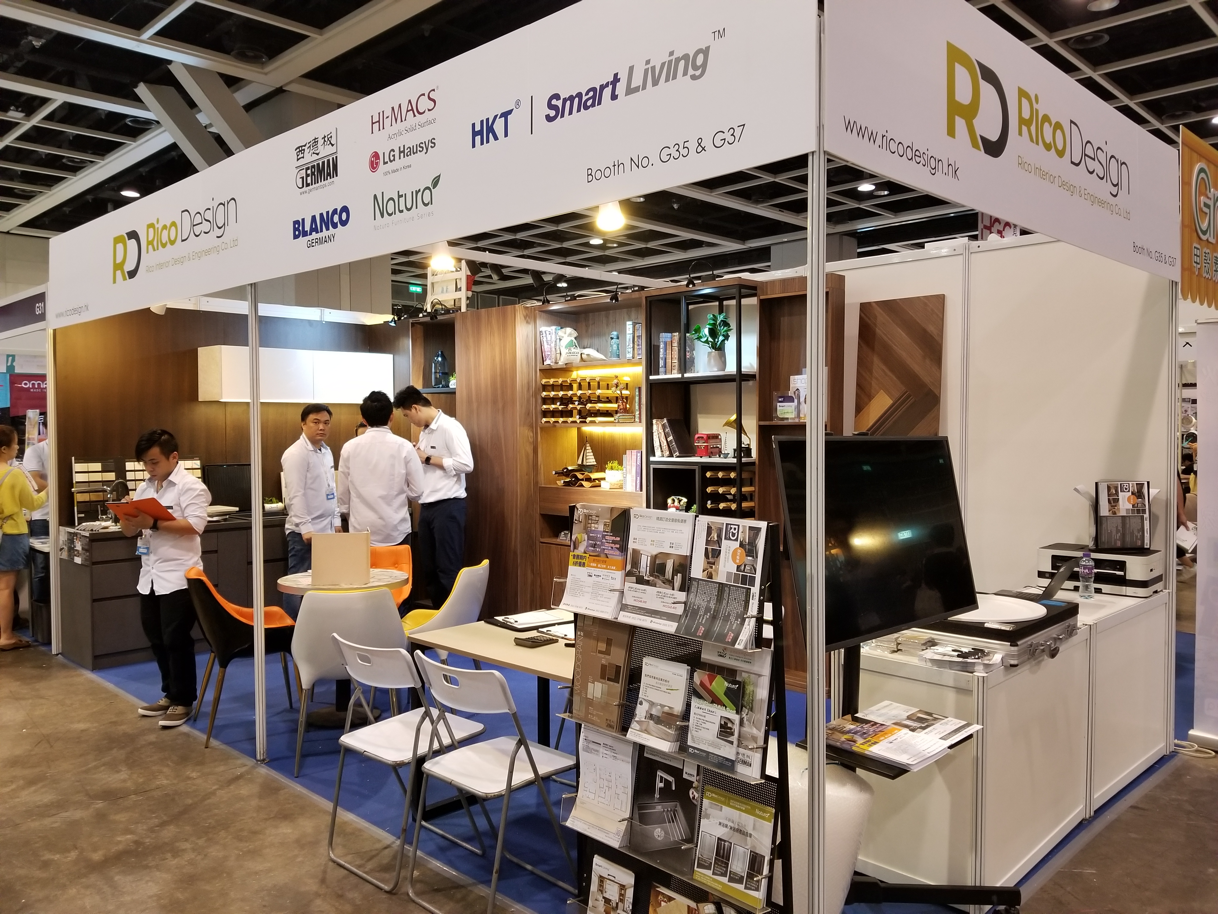 Home Decor Expo 2018 Waterfall: 【In-Home Expo香港家居博覽2018】活動回顧