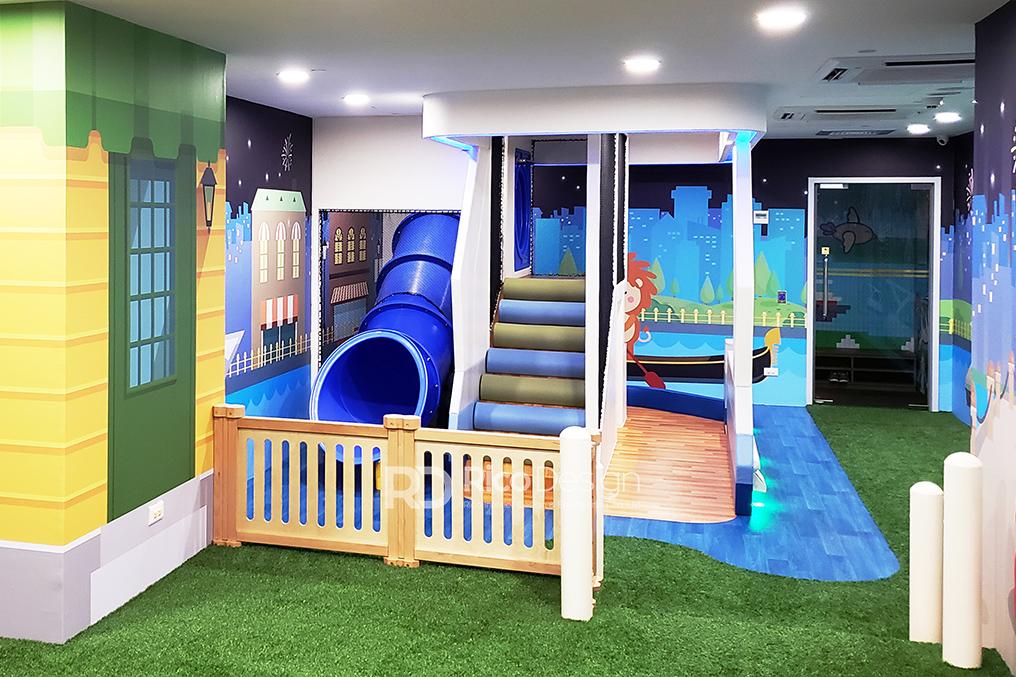 薄扶林Play Club 教育中心設計, 裝修設計1