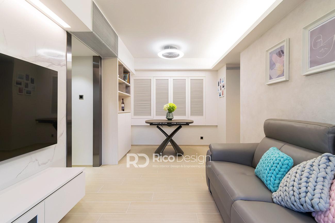 匯豪山客廳室內裝修設計2